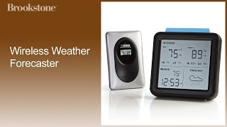 Wireless Weather Forecaster How to Sync