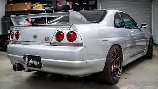 DRIVING my GTR for the first time EVER! **R33 SKYLINE BACK FROM THE DEAD!