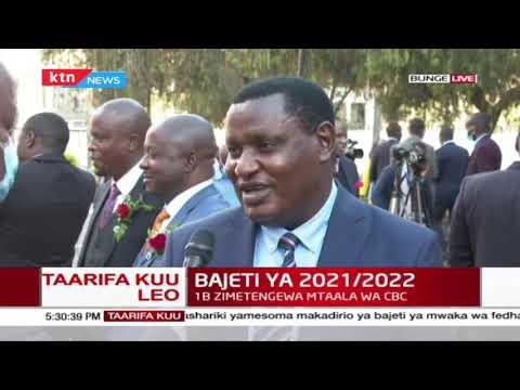 Mbunge Richard Nyagaka anashiriki maoni yake juu ya bajeti iliyosomwa ya 2021/2022