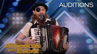 French Accent: Audience Backs Comedian After Receiving 3 Buzzers - America's Got Talent 2018