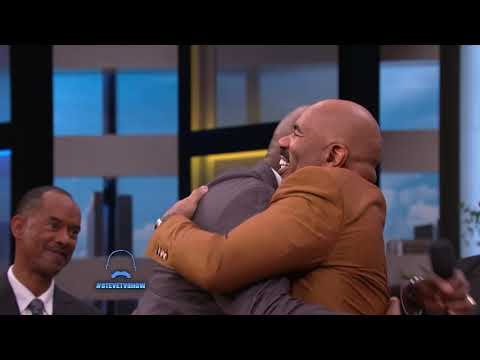 A Huge Harvey's Hundreds Surprise for Steve || STEVE HARVEY