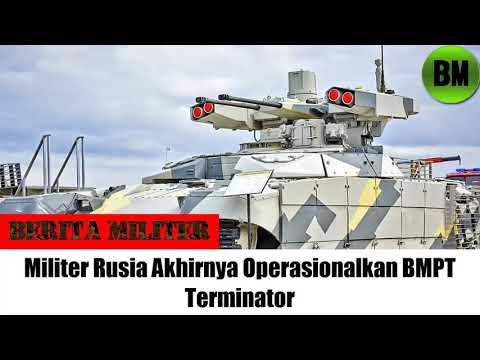 Berita Militer, Militer Rusia Akhirnya Operasionalkan BMPT Terminator