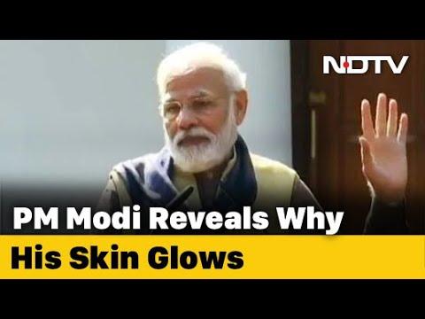 PM Modi Reveals Why His Skin Glows