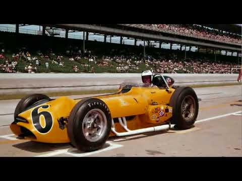 """WITH A TREMENDOUS ROAR !"": 1963 Indy 500 NOVI Qual. Attempt."