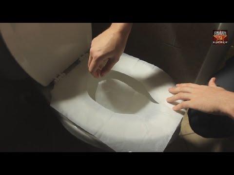 女性以後使用公用廁所,不用再煩惱衛生問題了