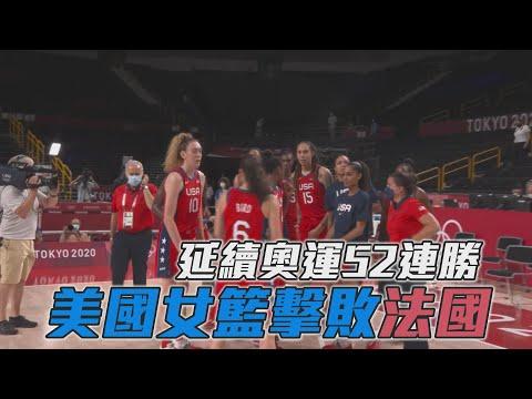 美國女籃保持奧運地位