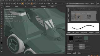 Texturing Military Vehicles In MARI Tutorial - Using A Layer-based Workflow