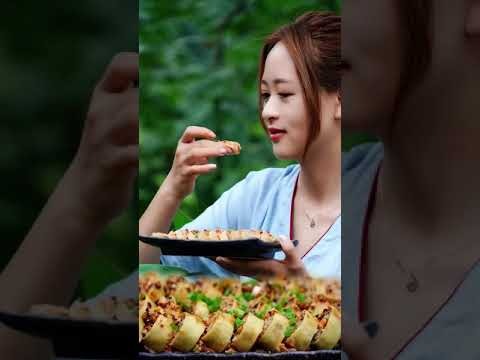 Amazing talent girl cooking recipe