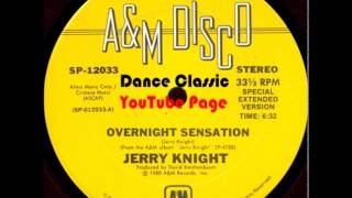 Jerry Knight - Overnight Sensation (Special Extended Version)