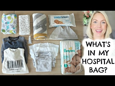 WHAT'S IN MY HOSPITAL BAG?  WHAT TO PACK?