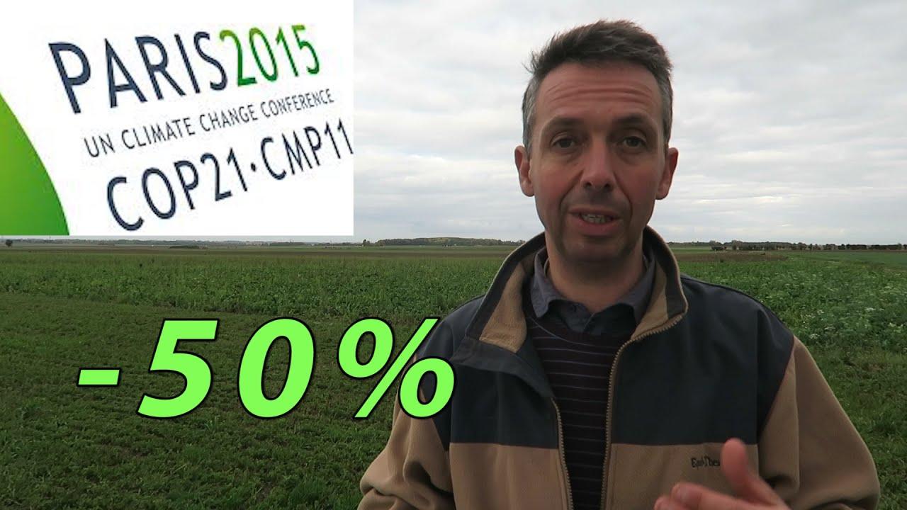 50 % de pollution en moins grâce à l'agriculture, slon Thierry l'agriculteur d'aujourd'hui