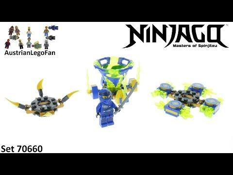Vidéo LEGO Ninjago 70660 : Toupie Spinjitzu Jay
