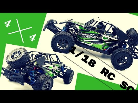 Rc Model 1/18 truck review with action camera footage!!!!