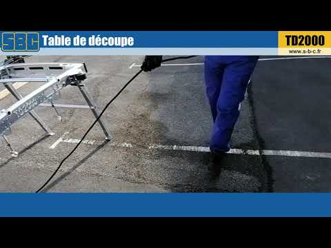 Video Youtube Option rallonge électrique pour TD2000