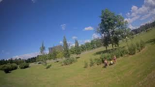 Демо видео FPV дрона Kingkong / Ldarc ET115 V2