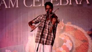 Nee Manimukilaadakal (Vellithira) - Violin cover by Chandlu