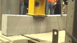 Reinforced Concrete Beam Shear Failure
