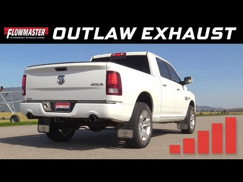 2009-19* RAM 1500 4.7L, 5.7L - Outlaw Cat-back Dual Exhaust System 817690