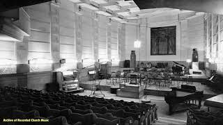 "BBC radio ""Home This Afternoon"": Temple Church 1969 (George Thalben-Ball)"