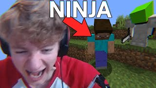 Ninja is the funniest minecraft player ever
