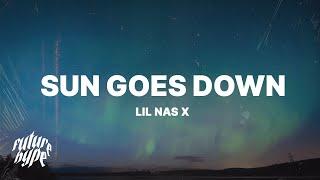 Lil Nas X - Sun Goes Down (Lyrics)
