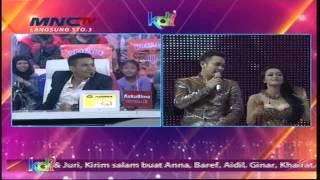 Judika Adu Suara Dengan Gilang Dirga - Kontes Final KDI 2015 (1/5)