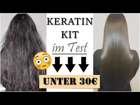 KERATIN BEHANDLUNG selber machen | Haarglättung & Haarversiegelung für 3 Monate