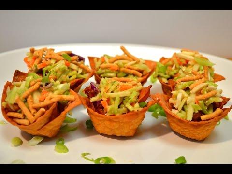 Applebee's Chicken Wonton Tacos – Applebee's Appetizer Recipe