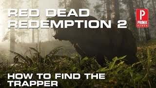 Red Dead Redemption 2 - How to Find the Trapper