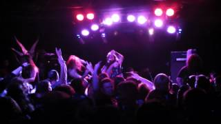 3 Inches of Blood - Metal Woman - @ the Gateway, Calgary, July 13th, 2012
