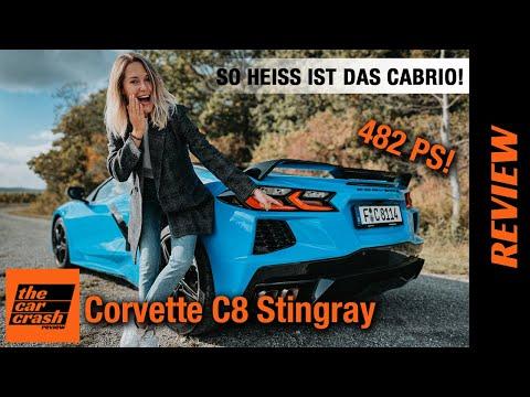 Chevrolet Corvette C8 Stingray (2022) So heiß ist das Cabrio ab 93.400€! Fahrbericht | Review | Test