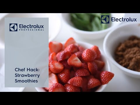 Chef Hack: Strawberry Smoothies