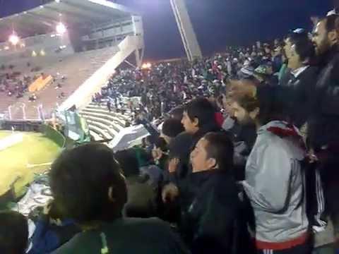 """""""La Banda del Pueblo Viejo en San Luis vs Racing"""" Barra: La Banda del Pueblo Viejo • Club: San Martín de San Juan"""