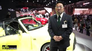 Toyota S-FR Q&A Interview from 2015 Tokyo Motor Show
