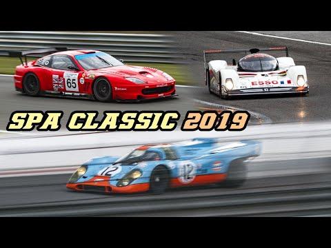 Spa Classic 2019 - 917K, XJR9, SP1, Cobra, 996 RSR, CSL, 275 GTB-C, T70, 905 & more