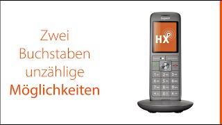 Gigaset CL660HX - Perfekt zum Anschluss an den Router. DECT-Mobilteil für Fritz!Box & Speedport