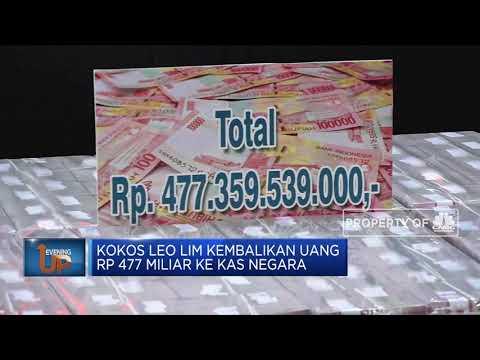 Kokos Jiang Kembalikan Uang Korupsi Rp 477 Miliar