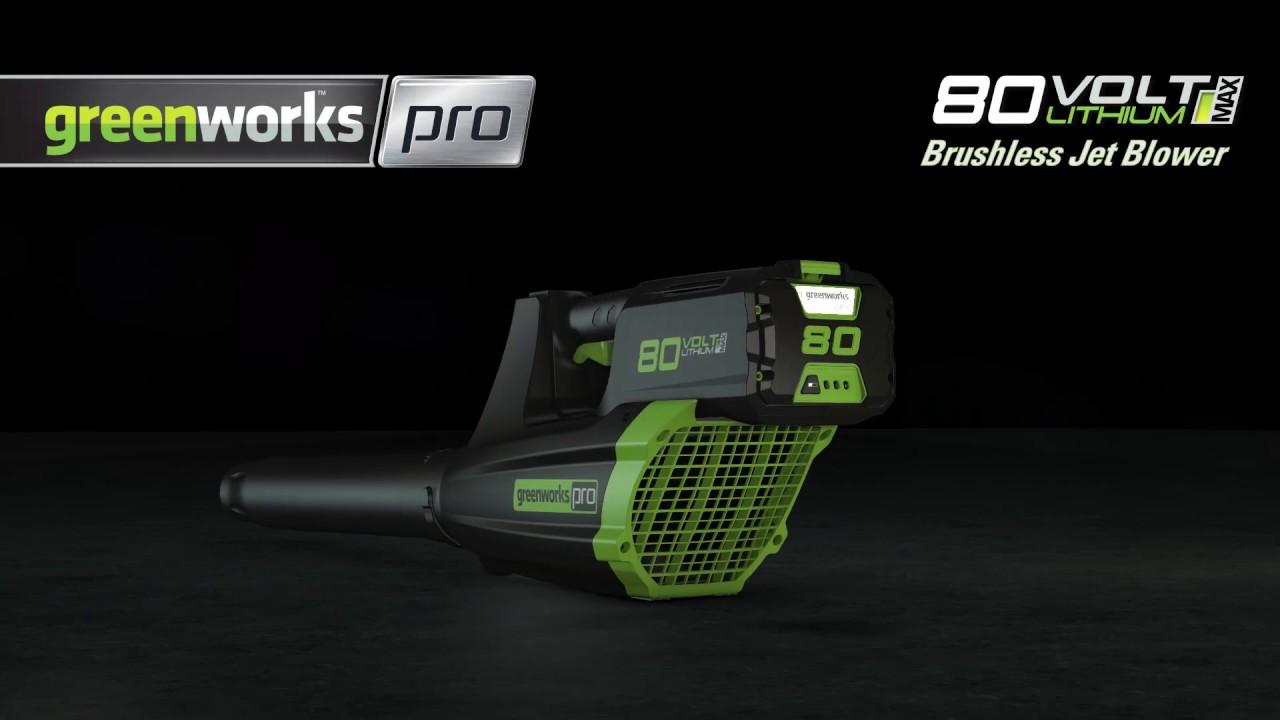 Greenworks Pro - 80V Cordless Blower - Attach Tube