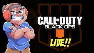 LET'S PRAY FOR MY AIM LIVE!!! [BLACK OPS 4] [ZOMBIE AND ALL MODES]