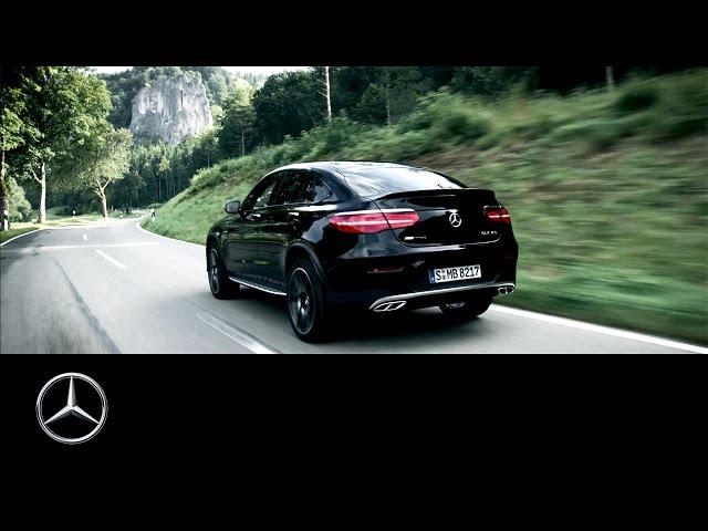 The new Mercedes-AMG GLC 43 4MATIC Coupé – Trailer – Mercedes-Benz original