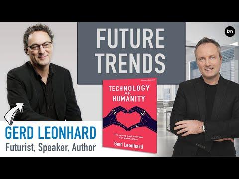 , title : 'The Biggest Future Trends - with Futurist Gerd Leonhard