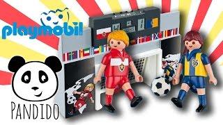 Playmobil Fussball  Torwand Mit Multifunktionsanzeige  Ausgepackt Und Angespielt