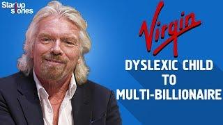 Richard Branson Success Story | Virgin Group Founder Biography | Virgin Records | Startup Stories
