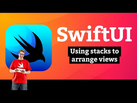 Using stacks to arrange views – Guess the Flag SwiftUI Tutorial 1/9 thumbnail