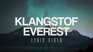 Klangstof - Everest [Lyric Video]