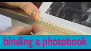 Complete Book Binding Of A Photo Book