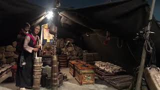 preview picture of video 'Nomadic museum in #tibet'