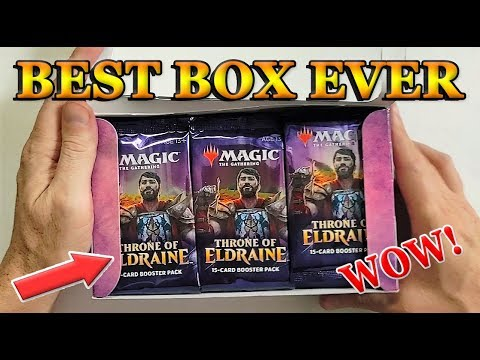If This Happens Your Throne Booster Box is Loaded!MTG