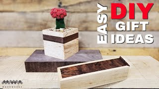 Easy DIY Gifts Made From Wood   Easy Woodworking Projects