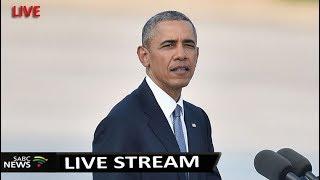 Former US president Obama in Kenya